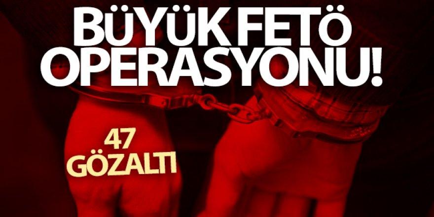 FETÖ operasyonu: 47 gözaltı