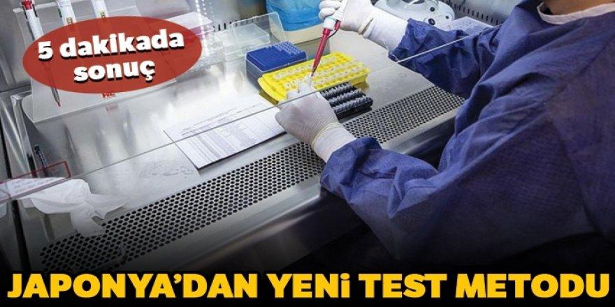Japon araştırmacılar Kovid-19'u 5 dakikada saptayabilen test metodu buldu