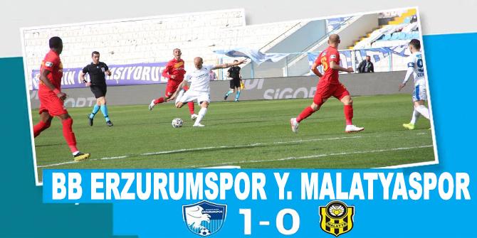 Erzurumspor - Yeni Malatyaspor maç sonucu: 1-0