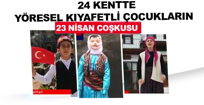 24 kentte yöresel kıyafetlerini giyip, yöre ağzıyla kutlama mesajı yayınladılar