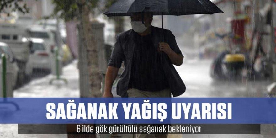 Doğu Anadolu'daki 6 ilde gök gürültülü sağanak bekleniyor