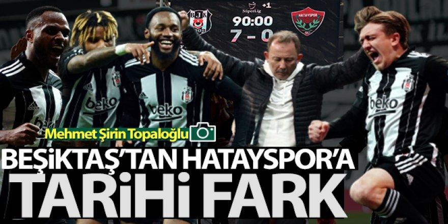 Beşiktaş 7-0 Hatayspor Maç Özeti ve Golleri İzle