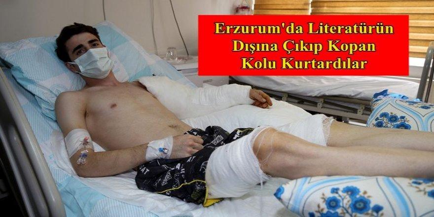 Erzurum'da Doktorlar, Literatürün dışına çıkıp kopan kolu kurtardılar