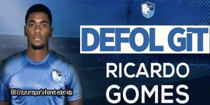 Defol git Ricardo Gomes! Takımına ihanet ettin