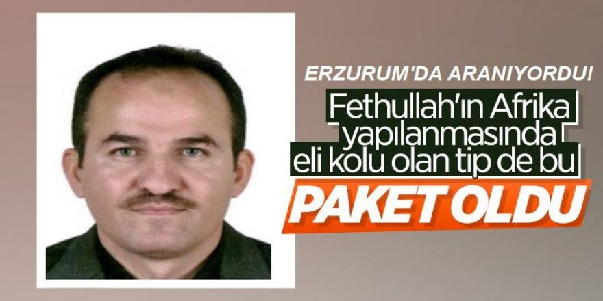 Erzurum'da aranıyordu yakalandı