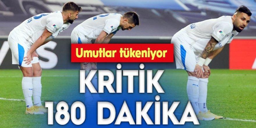 Erzurumspor'da umutlar giderek tükeniyor