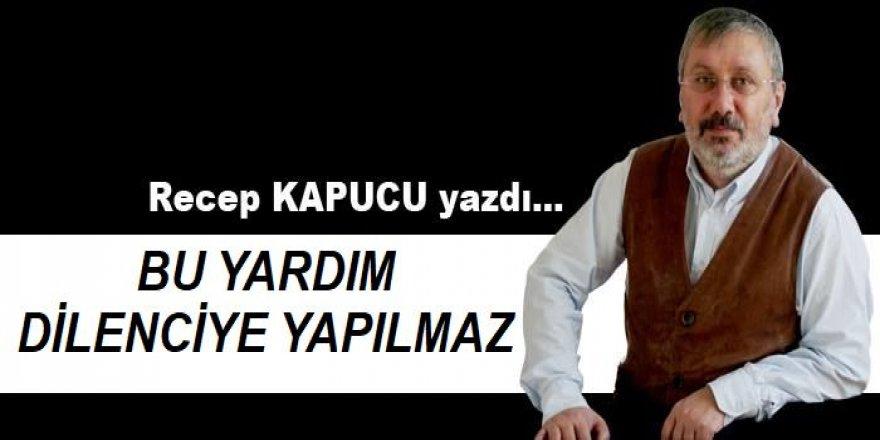Erzurum Esnafına dilenci muamelesi