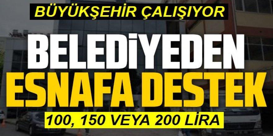 Erzurum esnafına komik yardım!
