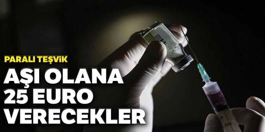 Sırbistan'dan aşı olana 25 euro ödeme