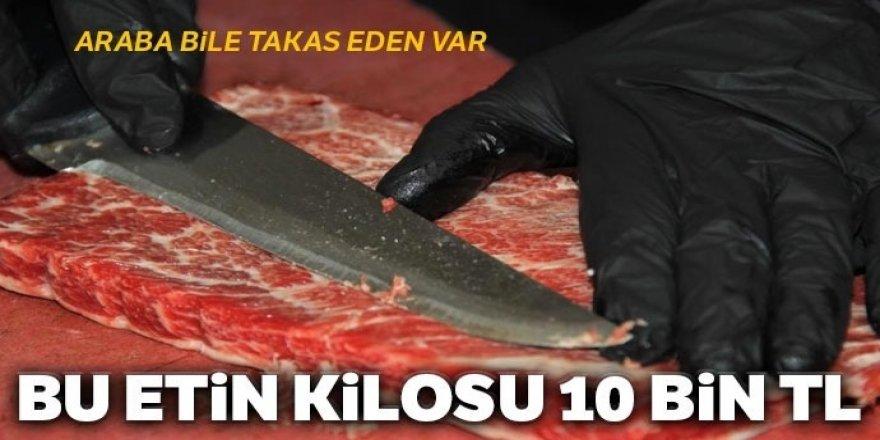 Bu etin kilosu 10 bin TL