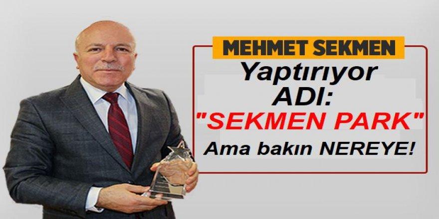 Ödüllü Başkan, adını Mersin'de yaşatacak!
