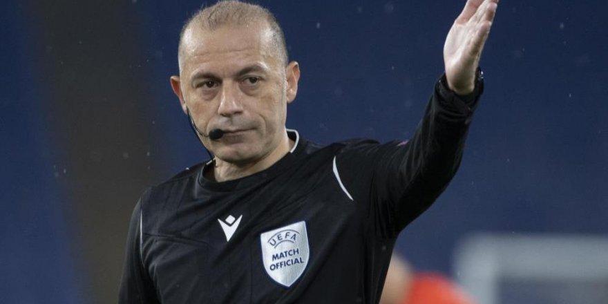 Galatasaray-Beşiktaş derbisinin hakemi Cüneyt Çakır