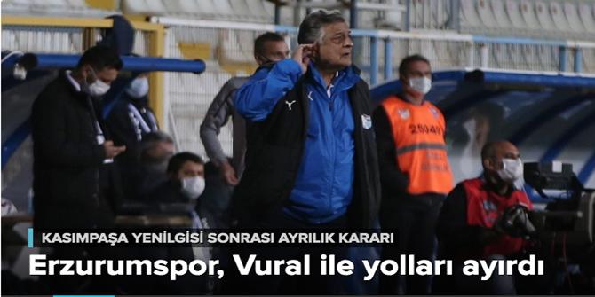 BB Erzurumspor, Yılmaz Vural ile yolları ayırdı