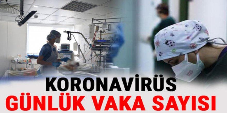 Türkiye'de son 24 saatte 15 bin 191 kişinin testi pozitif çıktı