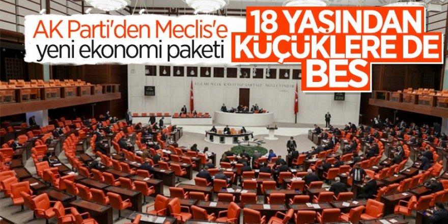 AK Parti, yeni ekonomi paketini Meclis'e sundu