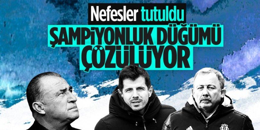 Süper Lig'de bu akşam şampiyonluk heyecanı yaşanacak