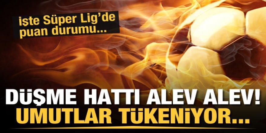 Süper Lig'de kalma savaşı! İki takım birden düşebilir…