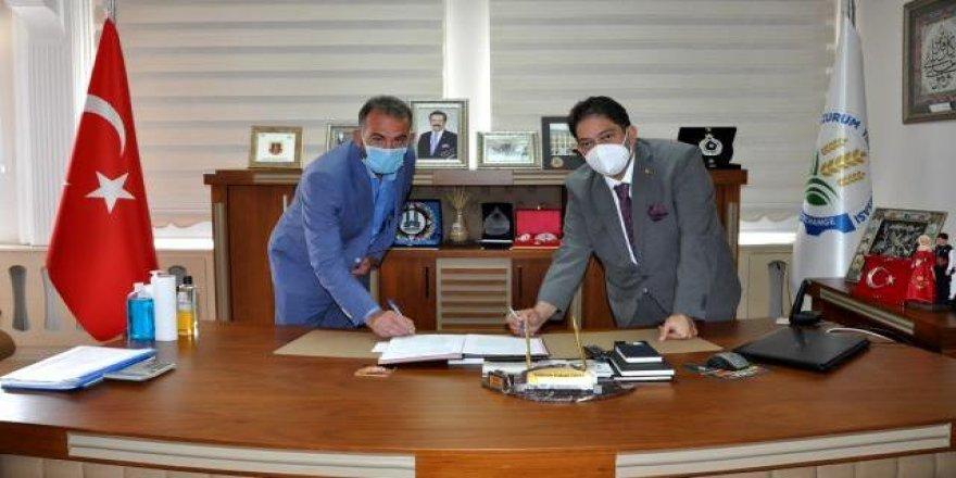 Erzurum Ticaret Borsası Tarımsal Kalkınma Kooperatiflerine desteklerini sürdürüyor