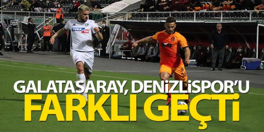 Denizlispor: 1-4 Galatasaray Maç Özeti