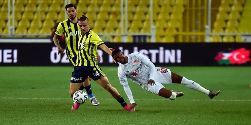 Fenerbahçe 1-2 Sivasspor Maç Özeti