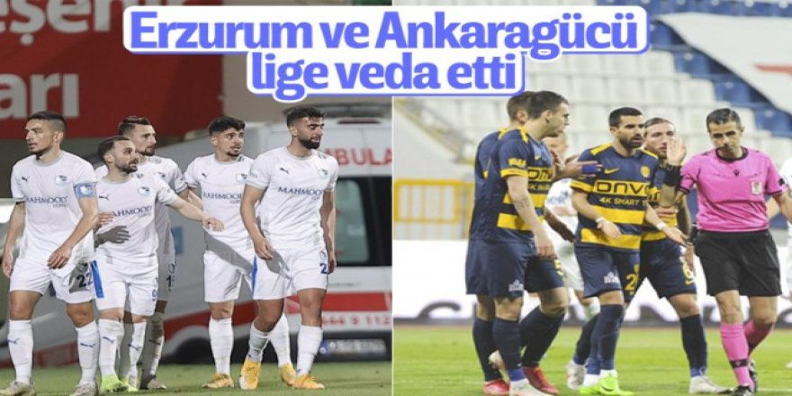 Erzurumspor, Süper Lig'e veda etti