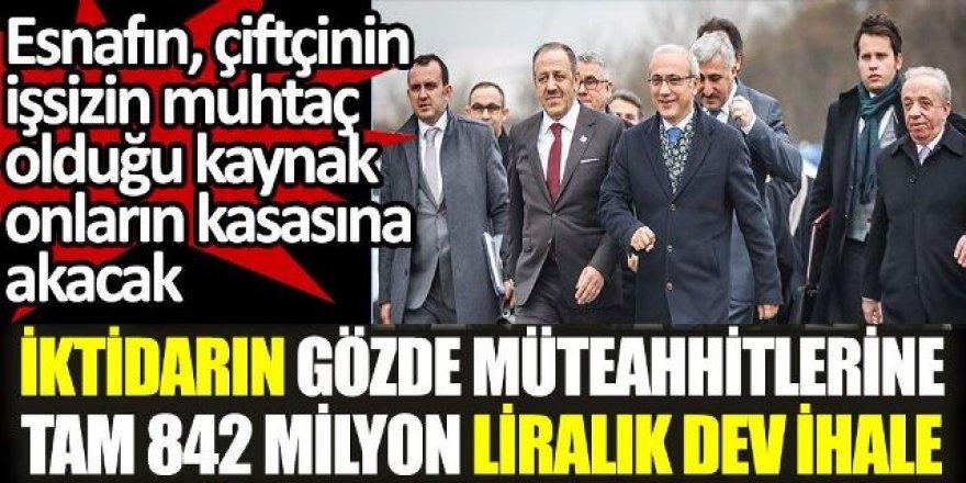 Artvin-Erzurum yolu ihalesi de onların