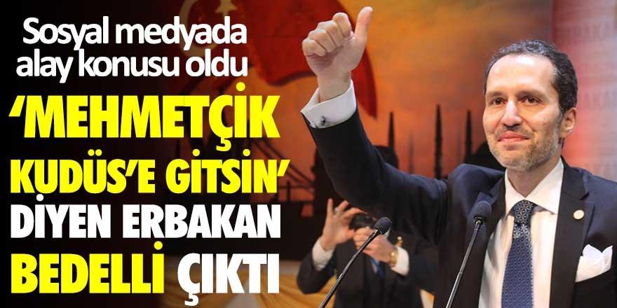Mehmetçik Kudüs'e gitsin diyen Fatih Erbakan'ın bedelli askerlik yaptığı ortaya çıktı