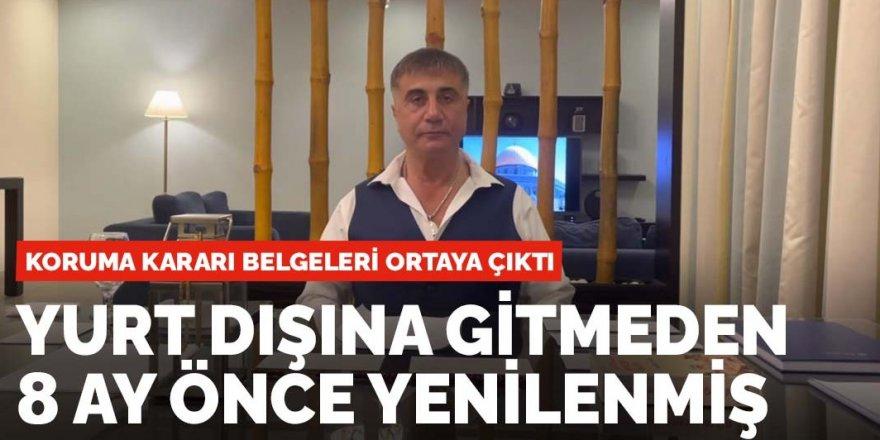 Sedat Peker'in koruma kararı belgeleri ortaya çıktı