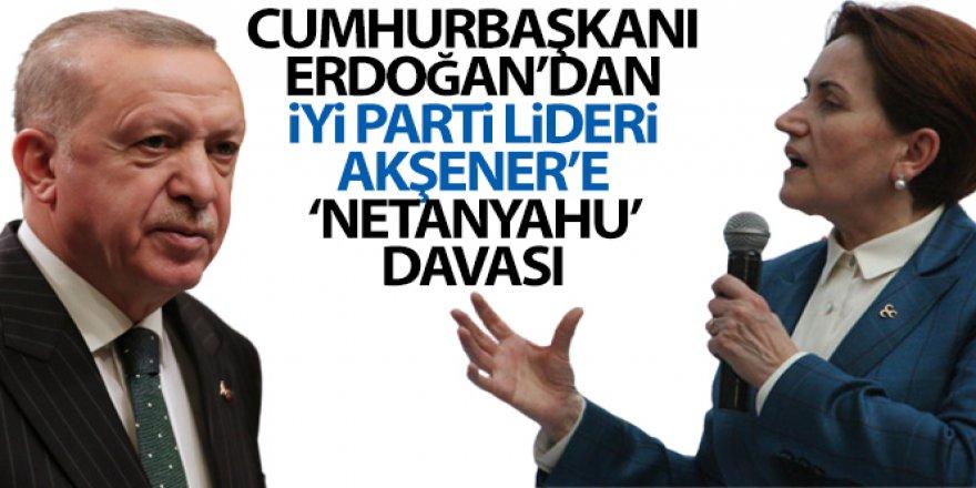 Cumhurbaşkanı Erdoğan İYİ Parti lideri Akşener'e tazminat davası açtı