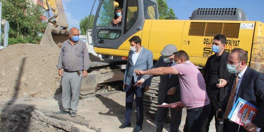 Yağmur suları artık Erzurum için çile olmayacak