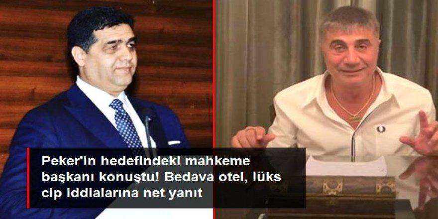 Sedat Peker'in hedefindeki mahkeme başkanı sessizliğini bozdu