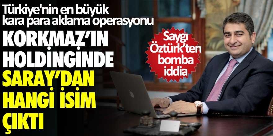 Saygı Özgürk'ten bomba iddia! Sezgin Baran Korkmaz'ın holdinginde Saray'dan hangi isim çıktı?