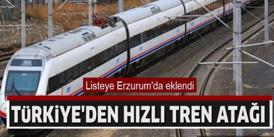 Türkiye'den hızlı tren atağı
