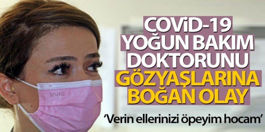 Covid-19 yoğun bakım doktorunu gözyaşlarına boğan olay
