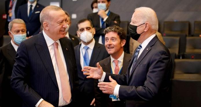 Başkan Erdoğan ile ABD Başkanı Biden arasında ilk temas!