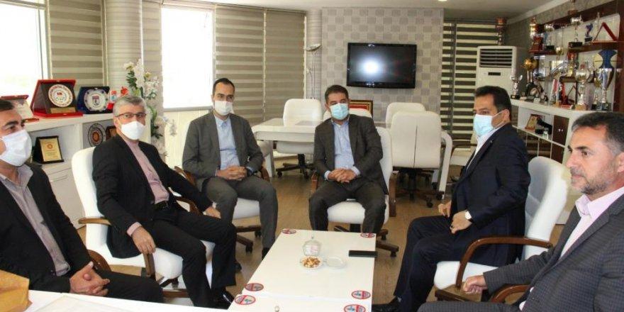 GSİM, İran heyetini ağırladı
