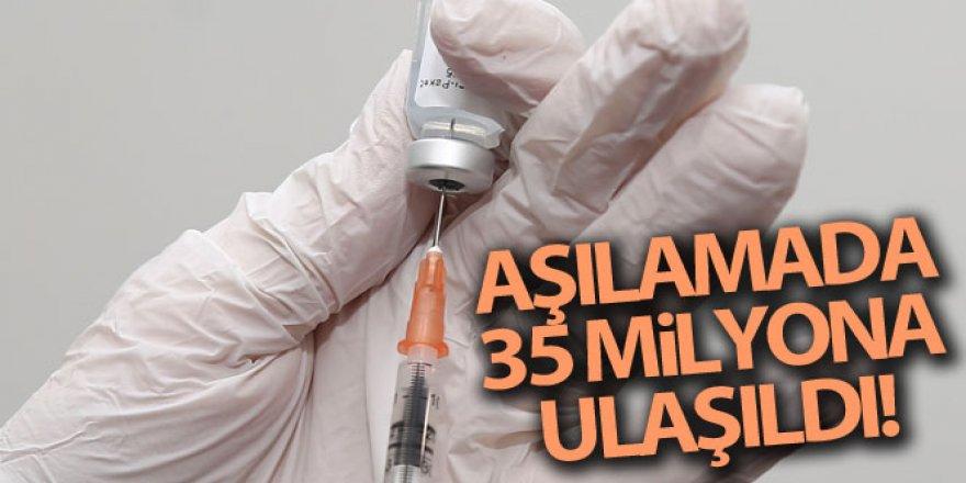 Sağlık Bakanı Koca: '35 Milyon doz aşıya ulaştık'