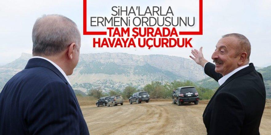 Cumhurbaşkanı Erdoğan ile Aliyev Şuşa'da
