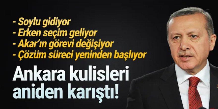 Erdoğan düğmeye bastı! Önce kabine revizyonu, sonra erken seçim ardından da...