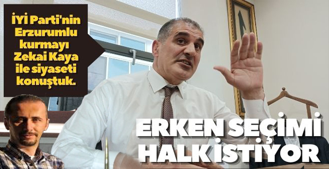 """""""ERKEN SEÇİM HAVASI VAR!"""""""