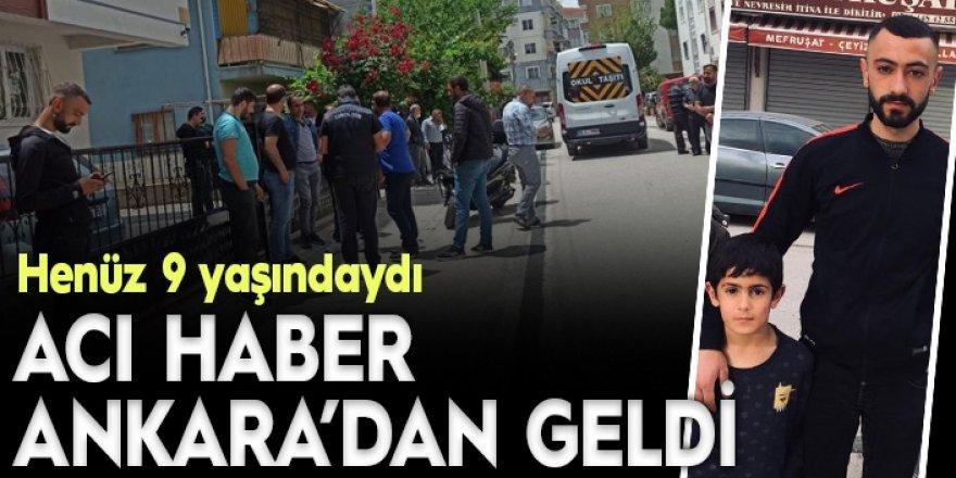 Acı haber Ankara'dan geldi…
