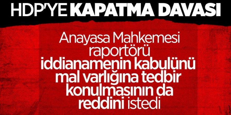 HDP'nin kapatılması iddianamesinin kabulü talep edildi!
