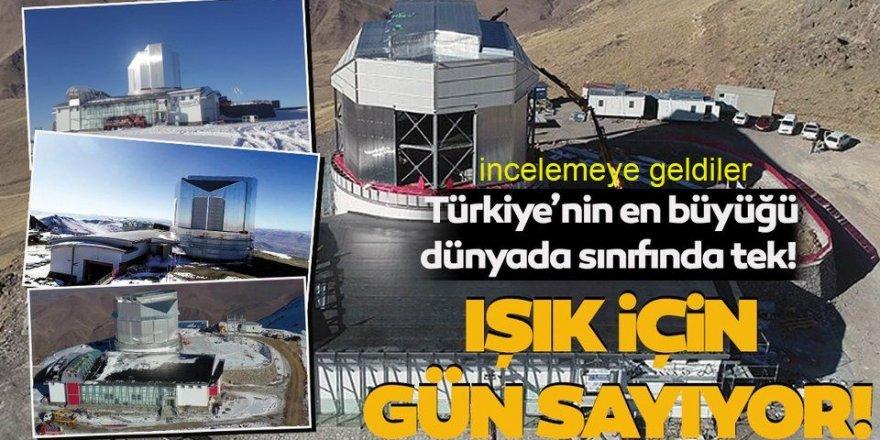 Doğu Anadolu Gözlemevi'nde incelemelerde bulunacaklar