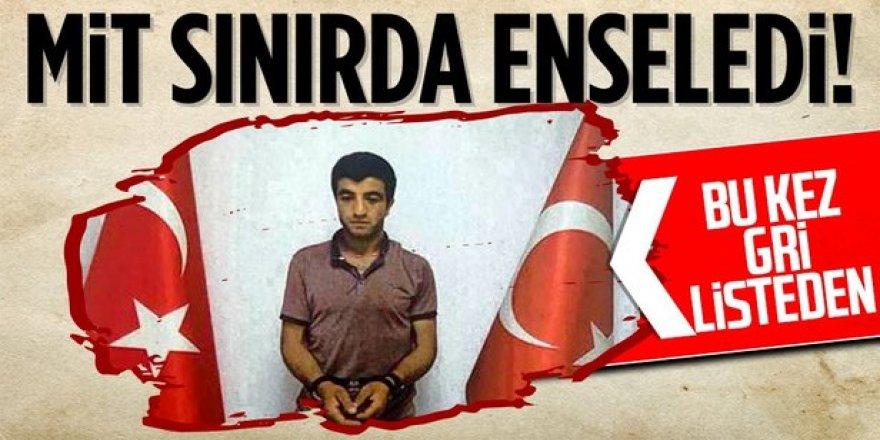 """PKK'lı """"Şiyar Erzurum"""" kod adlı İslam BİLİZ yakalandı"""