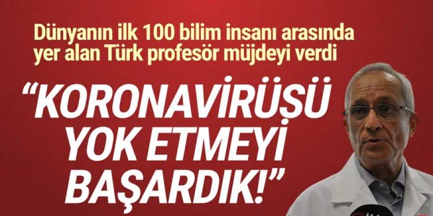 Prof. Dr. Erdem Yeşilada ''Koronavirüsü yok ediyor'' diyerek duyurdu