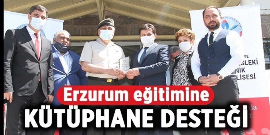 Erzurum eğitimine kütüphane desteği