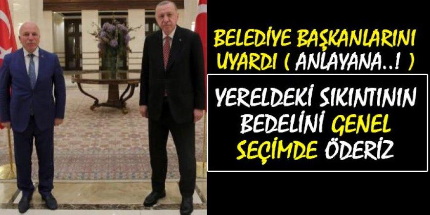 Erdoğan, AK Partili belediye başkanlarını uyardı