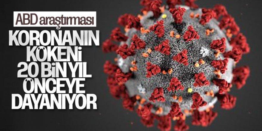 Koronavirüsün kökeni, 20 bin yıl önceye dayanıyor
