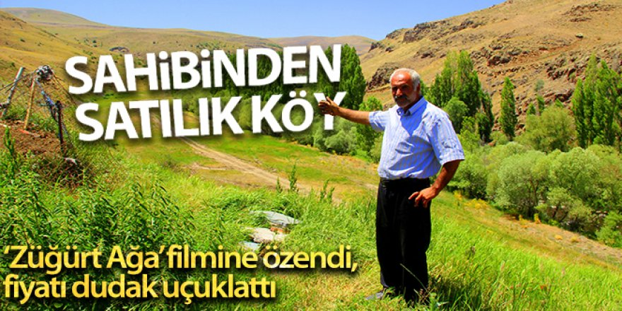 Erzurum'da Sahibinden satılık köy