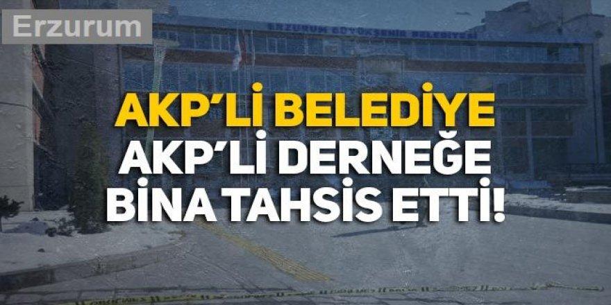 Erzurum Büyükşehir Belediyesi derneğinden bakın kimler çıktı!